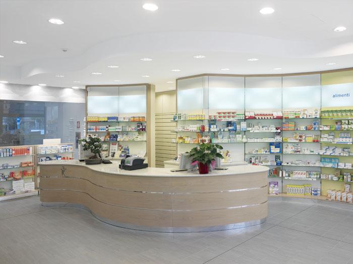 Dott. Alvisi - Arredamento Farmacia Moderna