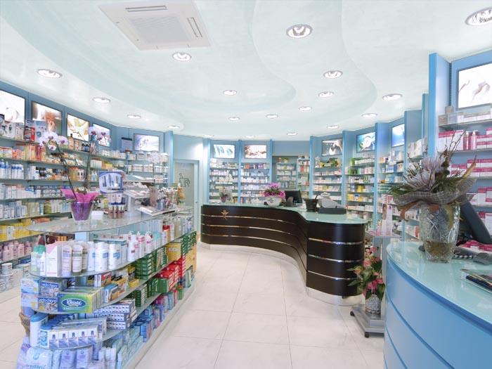 Farmacia Ioli - Arredo farmacia moderna