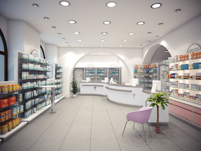 Dott. Marzini Adriano - Arredamento farmacia moderna