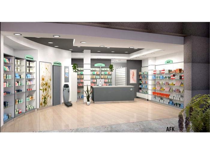 Comunale Cesenatico - Arredo farmacia moderna